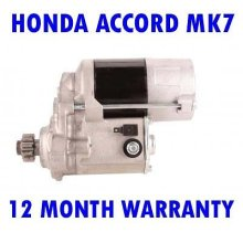 HONDA ACCORD MK7 MK VII 2.0 TDI 1999 2000 HATCHBACK STARTER MOTOR
