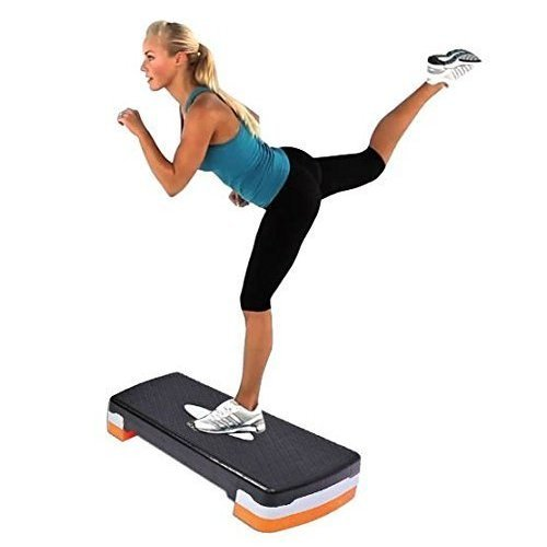 Aerobics Step - Phoenix Gym Fitness Stepper Adjustable Yoga Board Exercise -  step phoenix gym fitness aerobics stepper adjustable yoga board