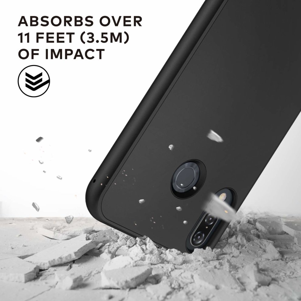 hot sales 956f3 16753 RhinoShield Case FOR ZENFONE 5 / ZENFONE 5Z [SolidSuit] | Shock Absorbent  Slim Design Protective Cover with Premium Matte Finish [3.5M/11ft Drop...
