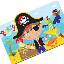 Little Pirate Invitation Postcards - /8