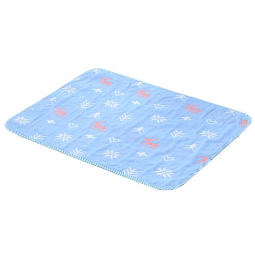 1 piece Waterproof Summer Baby Changing Pad Cover BLUE, 50x70cm