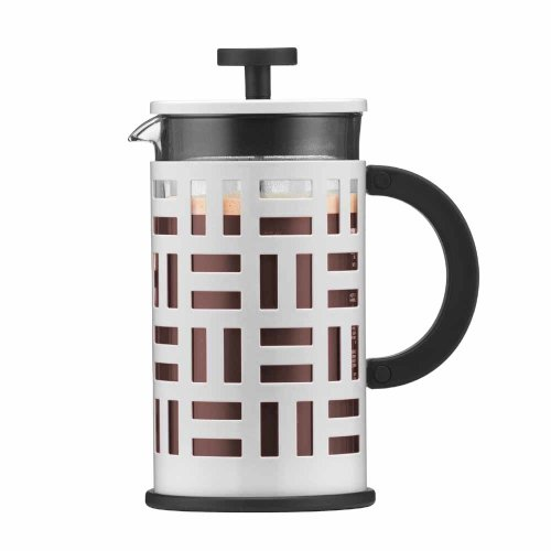 Bodum Eileen Coffee Maker Cafetiere 8 Cup 1.0L Off White