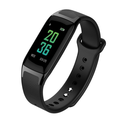 "Fitness Activity Tracker with 0.96"" Color Touch Screen Wearable Bluetooth Smart Watch Sports Bracelet Pedometer Blood Pressure Measure Heart Rate..."