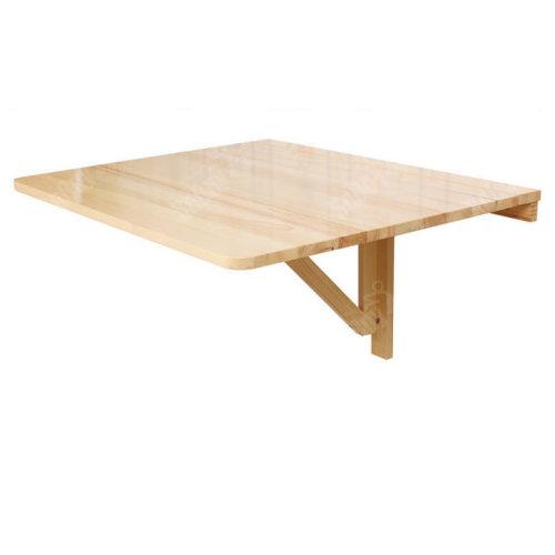 SoBuy® FWT01-N, Folding Wall Computer Desk Kitchen Dining Table, 75x60cm