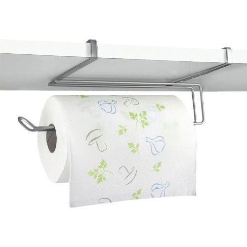 Top Home Solutions Under Shelf Cupboard Kitchen Roll Paper Towel Holder Dispenser
