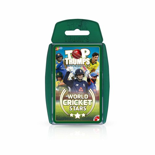 Top Trumps World Cricket Stars Card Game - 2018 Edition
