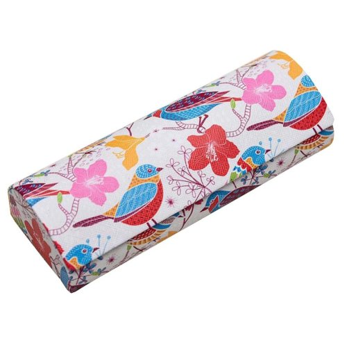 PU Leather Eyeglass Case Glasses Storage Case Protective Case for Glasses - 35