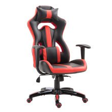 HOMCOM Gaming Office Chair, PU Leather-Red