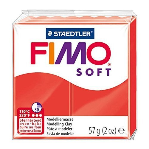 Staedtler - Fimo Soft 57g, Indian Red