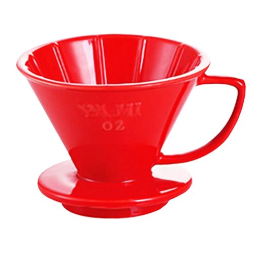 Tea/ Espresso /Coffee Accessories Coffee Filter Cup Red (101 Filter Paper)