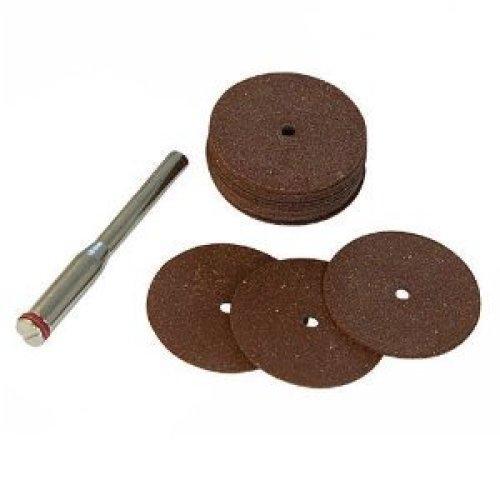 18 Piece 22mm Silverline Cutting Disc Kit - Tool Rotary 18pce Metal Set 763600 -  cutting disc tool rotary 18pce metal set 22mm 763600 silverline dia