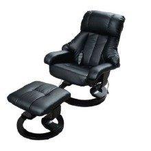 Homcom Recliner Massage Chair & Footstool