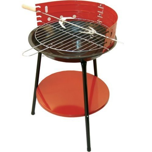 14 Inch Round Bbq Portable With Stand -  bbq 14 round barbecue tripod rotisserie charcoal barbeque