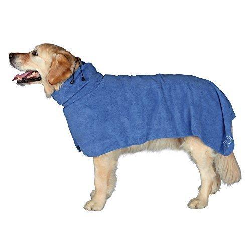 Trixie Dog Bathrobe, M, 50 Cm, Blue - Bathrobe Mcm Towel Microfibre Drying -  bathrobe trixie dog blue m 50 cm towel microfibre drying sizes