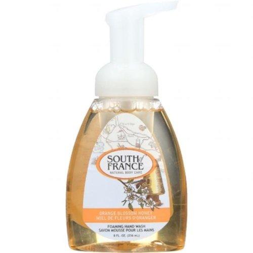 South of France 1722792 8 oz Gluten Free Foaming Hand Soap, Orange Blossom Honey