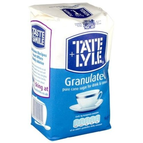 Tate & Lyle Fairtrade White Sugar 1kg (pack of 15)