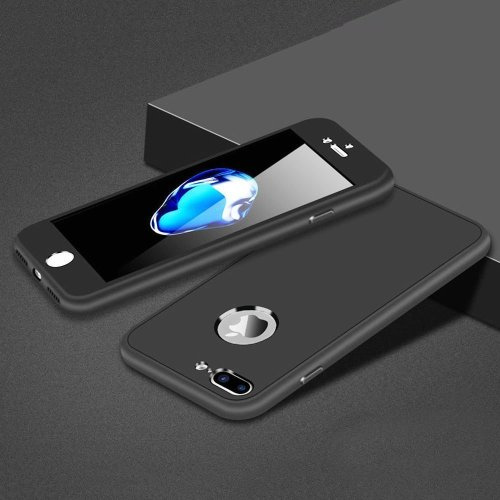 info for e1f17 addd5 Leobray iPhone 5 Case,iPhone SE Case, 360° Full Body Silicone [with  Tempered Glass Screen Protector] Shockproof Soft TPU Matte Finish Slim  Phone...