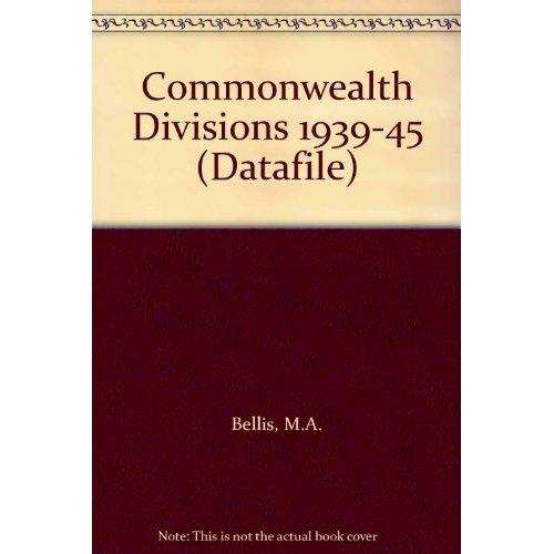 Commonwealth Divisions 1939-45 (Datafile)