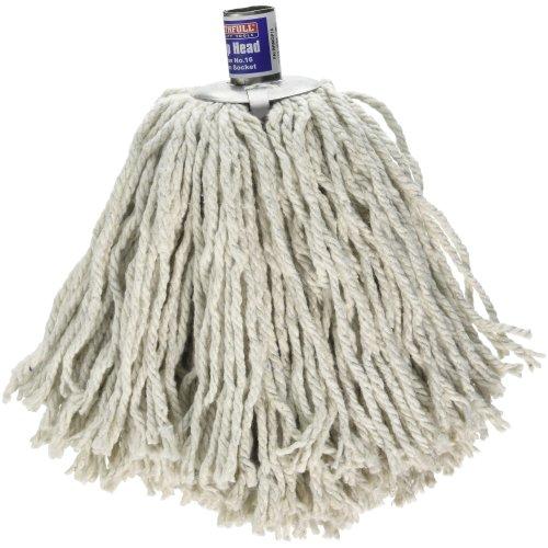 Faithfull BRMOP16 No.16 Cotton Socket Mop Head
