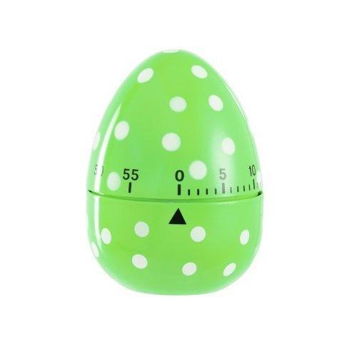 Eddingtons 60 Minute Egg Timer, Green Spotted - Timer Dotty -  egg timer eddingtons green 60 spotted minute dotty