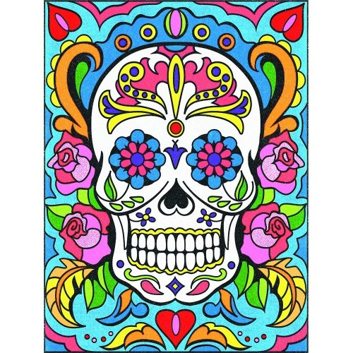 DPW91494 - *Paintsworks Pencil by Numbers - Sugar Skull