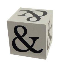 Wooden Block - Ampersand