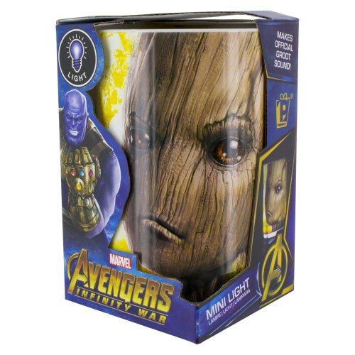 Guardians Of The Galaxy Avengers Groot Mini Night Light With Official Sounds