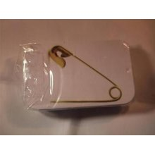 Hemline 23mm Safety Pins in an Attractive Tin