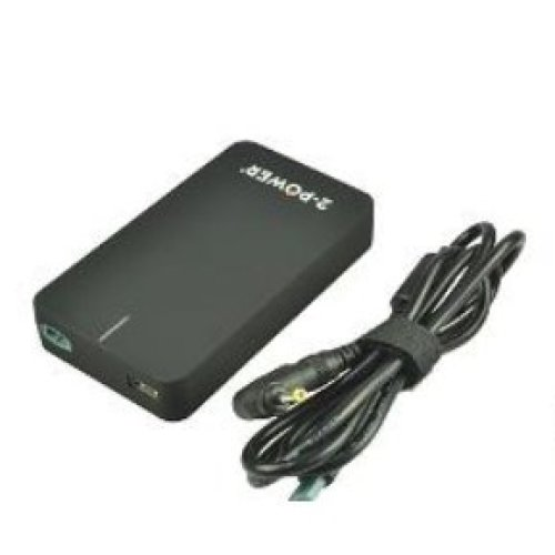 2-Power CAA0718B Indoor 90W Black power adapter/inverter