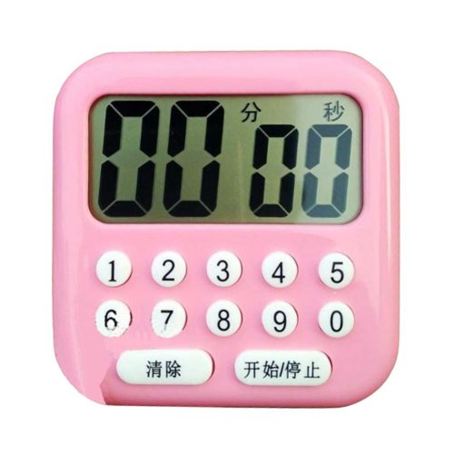 Electronic Kitchen Timer,Digital Button Timer,Gym,School,Home,Outdoor,B03