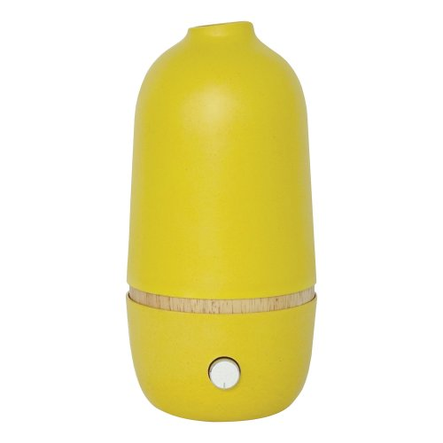 Onabyekobo Lemon Essential Oil Spray Diffuser Bamboo/Glass 10x 10x 20.5cm