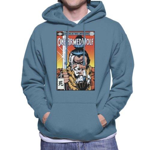 One Armed Wolf Comic Sekiro Men's Hooded Sweatshirt