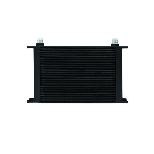 Mishimoto MMOC-25BK Universal 25-Row Oil Cooler, Black
