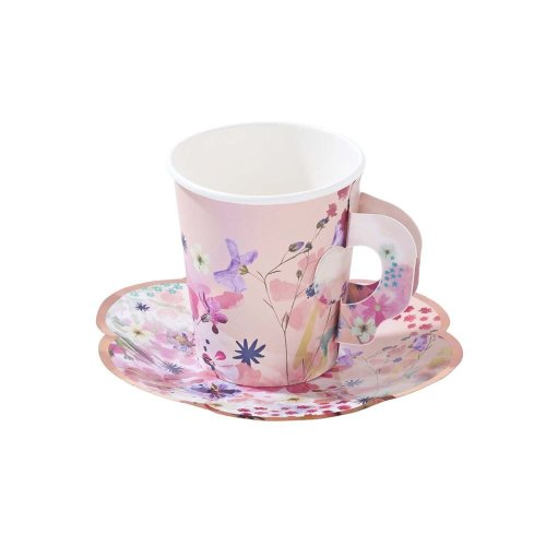 Blossom Girls Cup & Saucer Set - Afternoon Tea Party