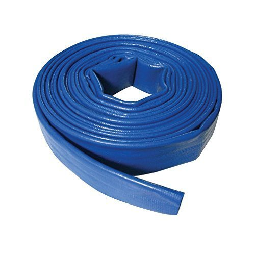 Silverline Lay Flat Hose 10m x 32mm - 633656 Discharge -  hose flat silverline 10m x 32mm lay 633656 discharge
