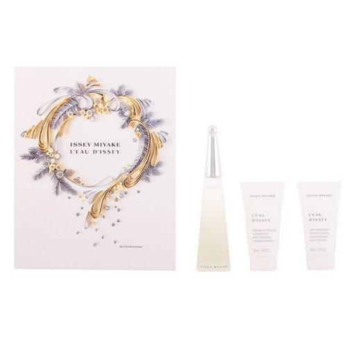 Women's Perfume Set L'eau D'issey Issey Miyake (3 pcs)
