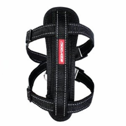 EZY-DOG CHESTPLATE HARNESS  (BLACK)