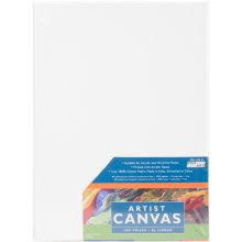 """Pro Art Stretched Artist Canvas Twin Pack 2/Pkg-9""""X12"""""""