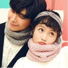 Mens Womens Knitted Thick Multifunctional Scarf
