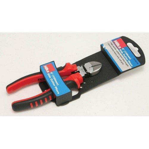 Hilka 26100106 Side Cutting Pliers 150mm Soft Grip Handles