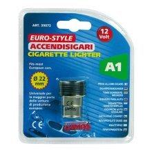 22mm Diameter Black 12v Cigarette Lighter - Lampa Universal Eurostyle -  cigarette lighter 12v lampa universal eurostyle