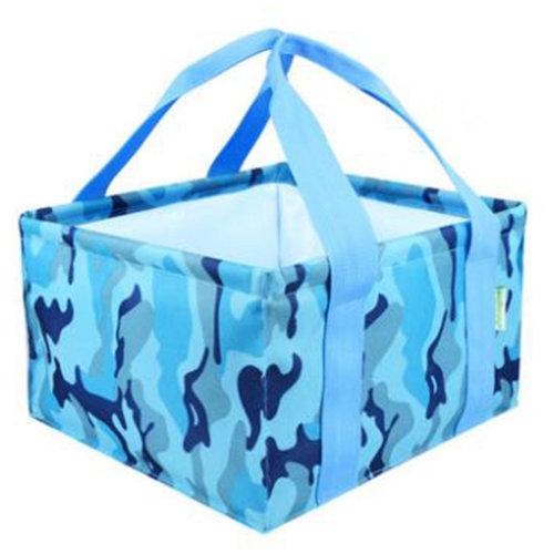 11L Portable Folding Wash Basin Leak-proof Foldable Bucket Footbath Basin, Rectangle #56