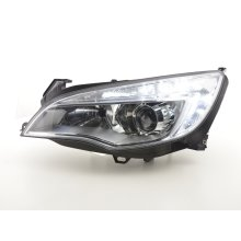 Daylight headlight with daytime running lights Opel Astra J Year 2009-2012 chrome