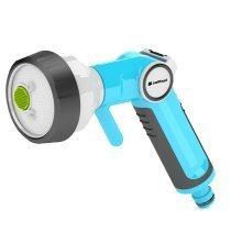 4-functional Garden Hand Sprinkler Gun with Graduated Water Flow Regulation