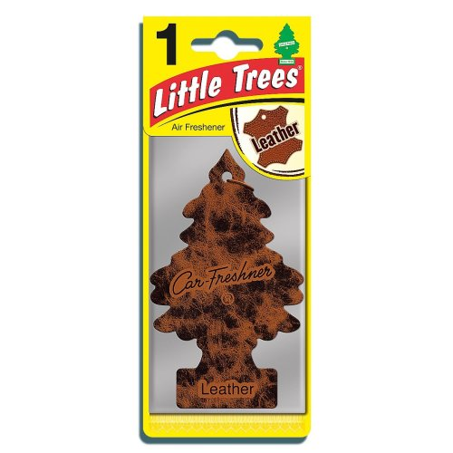 Little Trees MTR0016 Air Freshener, Leather Fragrance, 1 unit