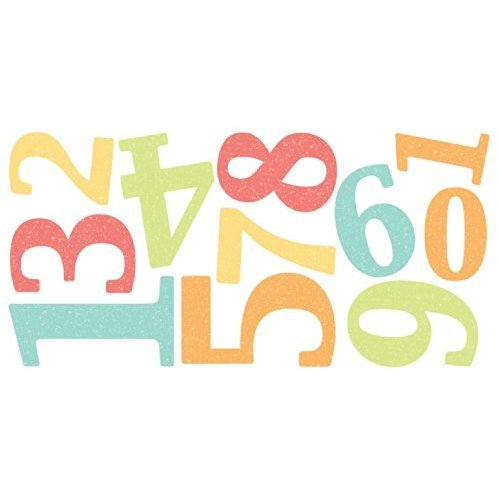 Fun4Walls WS40265 Numbers Wall Stickers
