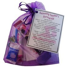 Swimming Teacher Survival Kit Gift  - Great present for Christmas, end of year or just because...