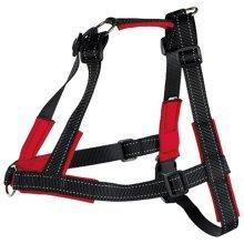 TRIXIE Harness Lead'n'Walk Soft Size L-XL 65-105 cm Black 13057