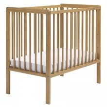 East Coast Carolina Space Saver Cot in Antique with Mattress