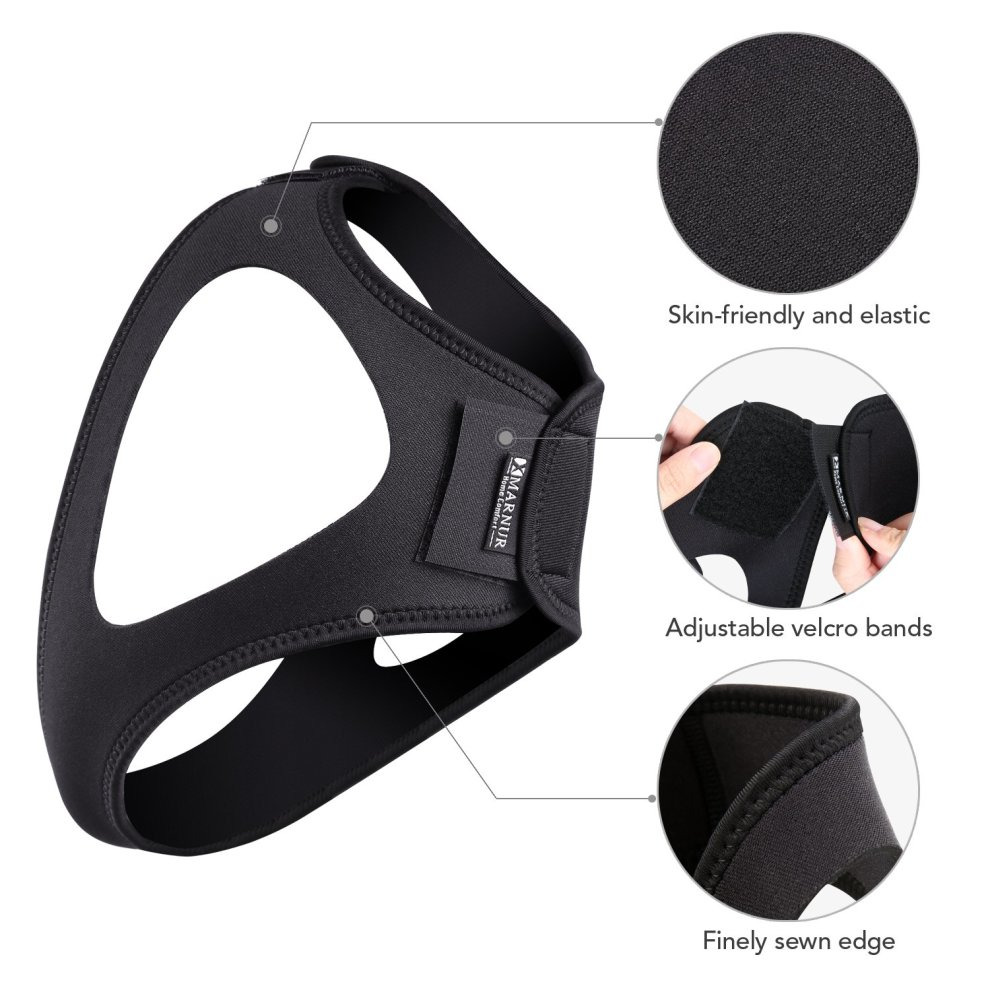 MARNUR Chin Strap Anti Snoring Chin Strap Stop Snoring Solution for Men and  Women Relief Natural Sleep and Reliving Sleeping Stress with Adjustable